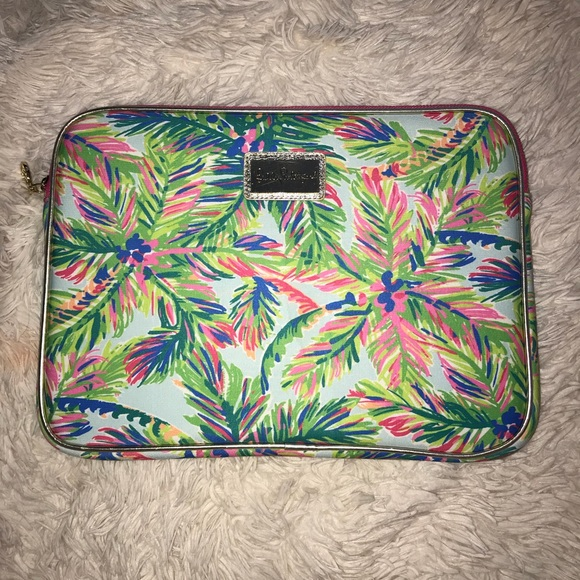 low priced 473a6 afb23 lilly pulitzer computer case